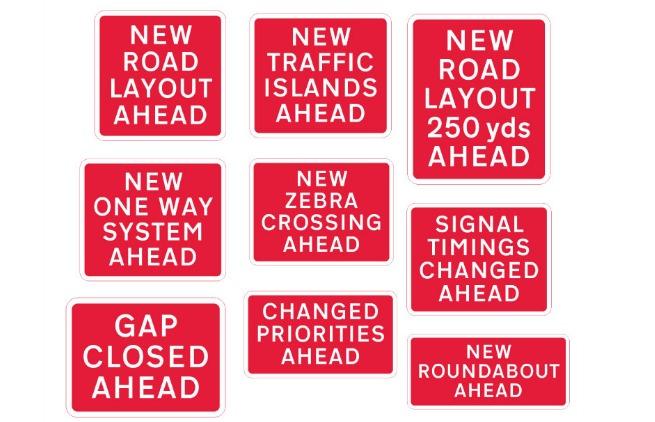 mistral street signs