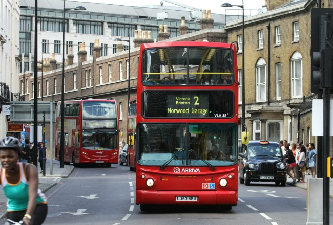 London bus article mistral