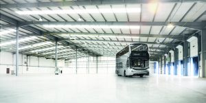 Mistral ADL Bus in warehouse