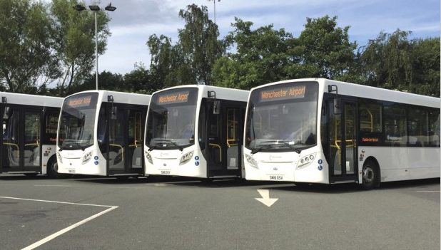 Enviro200s for Manchester Airport