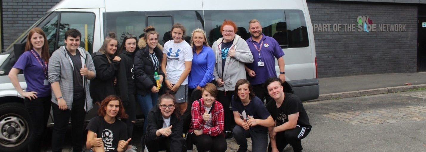 Working with OnSide Youth Zones to Support Young People