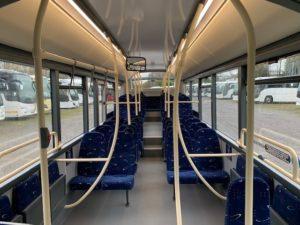 Inside a school bus - ADL E200 MMC 10.8m