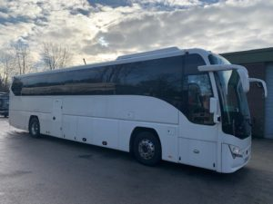 Exterior of B8R Plaxton Panther for Sale