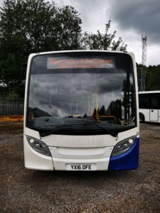 Front of Enviro 200 8.9m - used bus for sale