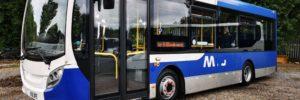Enviro 200 8.9m used bus for sale